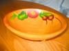 Click to view larger image of Vintage Painted Wood Bowl (Image4)