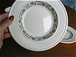 Click here to enlarge image and see more about item wedgewood105121: Wedgwood  Banbury Bread Plate