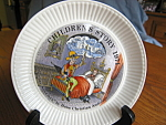 Click here to enlarge image and see more about item wedgewood92906: Vintage Wedgewood Sandman Children's Story Plate