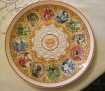 Click here to enlarge image and see more about item wedgwood1114: Wedgwood Millenium Literature Plate