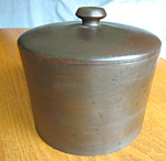 Click to view larger image of Vintage Wood Container (Image1)