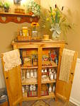 Click to view larger image of Vintage Wood Display Rack (Image7)