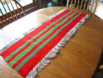 Click here to enlarge image and see more about item woolrunner1113: Wool Table Runner
