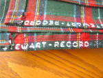 Click to view larger image of Wool Plaid Tablecloth (Image3)