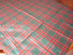 Click to view larger image of Wool Plaid Tablecloth (Image5)
