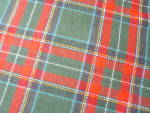 Click to view larger image of Wool Plaid Tablecloth (Image8)