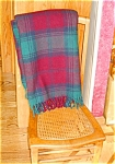 Click here to enlarge image and see more about item wtex03031: Vintage Faribault Wool Throw