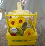 Click to view larger image of Vintage Collectible Yellow Kitchen (Image2)