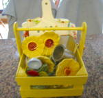 Click to view larger image of Vintage Collectible Yellow Kitchen (Image8)