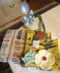 Click here to enlarge image and see more about item yellowkitchen1215: Kitchen Collectible Linens & Gadgets