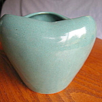 Click to view larger image of Vintage Zanesville Stoneware Vase (Image1)