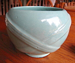 Click here to enlarge image and see more about item zanesville90727: Zanesville Stoneware Vase Planter