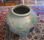 Click to view larger image of  Rare Zanesville Stoneware Garden Jar (Image2)