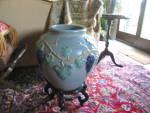 Click to view larger image of  Rare Zanesville Stoneware Garden Jar (Image8)