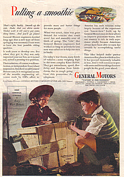 1944 General Motors WWII Pulling a Smoothie A (Image1)