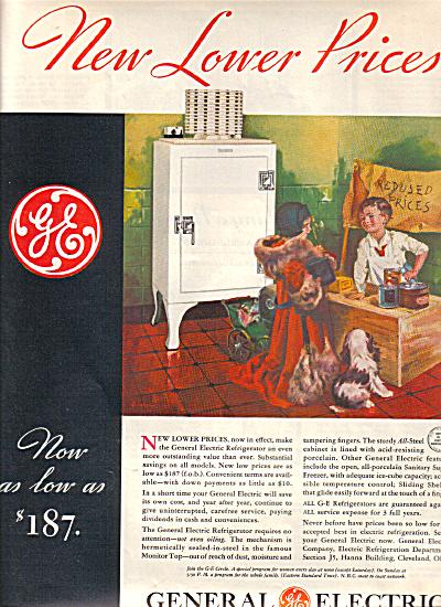 1932 General Electric GARLAND Artwork Refrige (Image1)