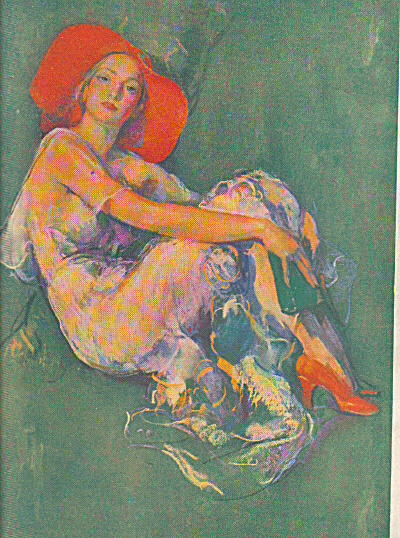 1932 IVORY SOAP ARTWORK Print Woman AD (Image1)