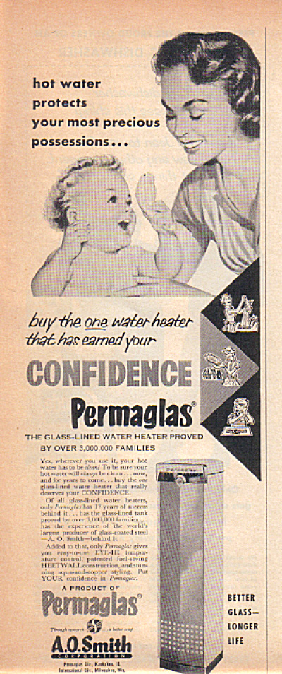 1950's Permaglass A.O. Smith PRECIOUS Possess (Image1)