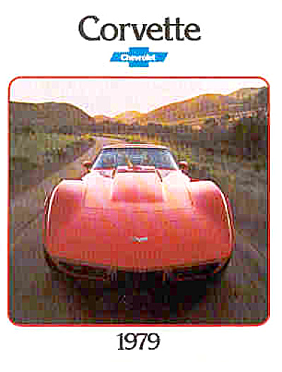 Corvette 1979 Sales Brochure POSTER MINT (Image1)