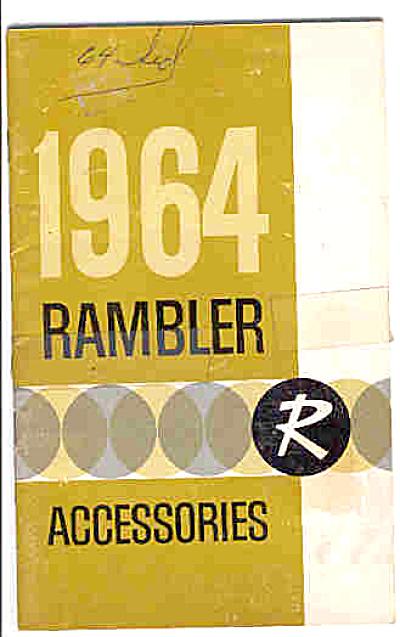 1964 RAMBLER Original Car Owners Manual AMC (Image1)
