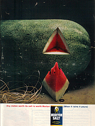 1963 Morton Salt Watermelon Ad (Image1)