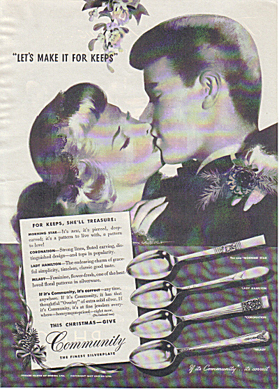 1947 COMMUNITY Silver 4 Pattern JON WHITCOMB (Image1)