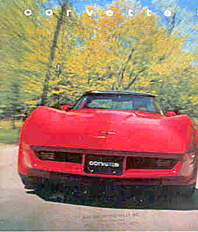 Corvette 1982 Sales Brochure Chevy 16 page (Image1)