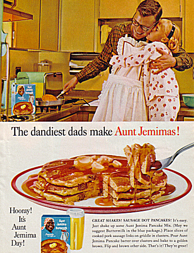 1962 DANDIEST DAD in Apron Aunt Jemima AD (Image1)