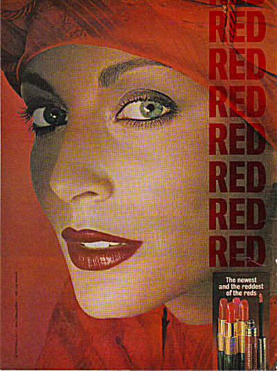 1977 Revlon REDS A LA RUSSE Moon Drops AD (Image1)