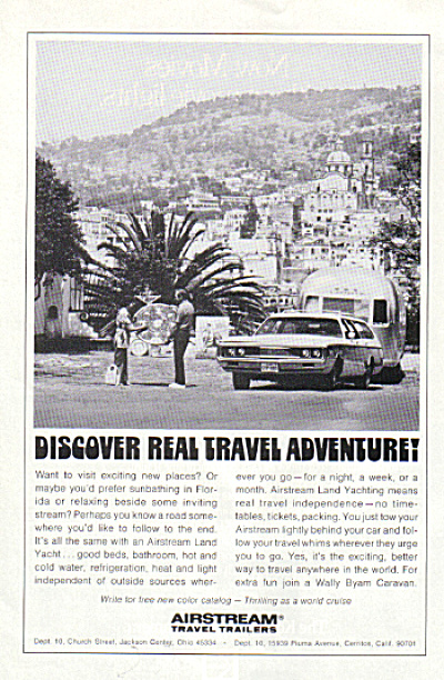 1972 AIRSTREAM Real Travel Trailer AD (Image1)