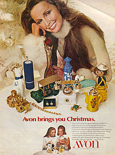 1971 Avon Lady Christmas Products AD (Image1)