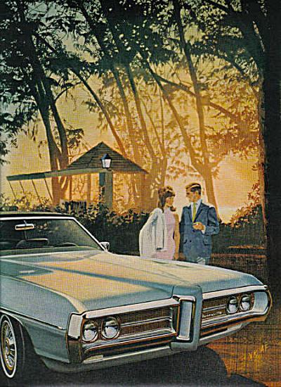 1969 Pontiac Bonneville Car AD 2pg 428 V8 (Image1)