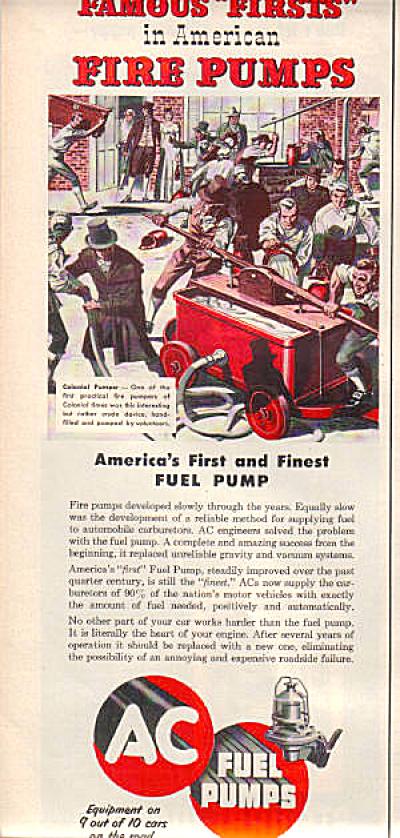 1954 Colonial Fire Pumper Pump AC Fireman AD (Image1)