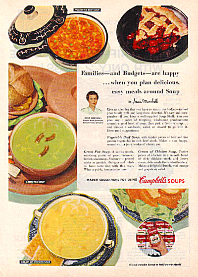 1954 Cambells Soup w/ Russel Wright IROQUOIS (Image1)