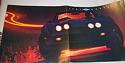 1981 Corvette VETTE Sales Brochure Fold Out (Image1)