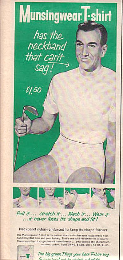 1956 Munsingwear Man Underwear Golf Ad (Image1)