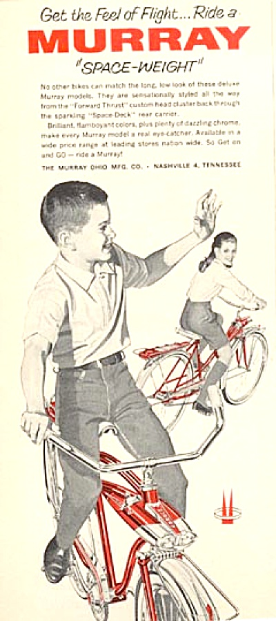 1964 AD Bicycle Murray Bike Space Weight Kids (Image1)