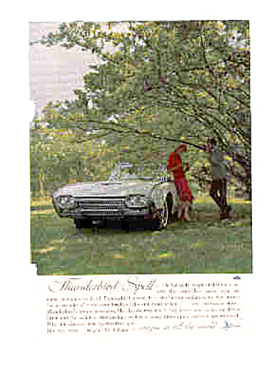1962 Thunderbird Ad (Image1)