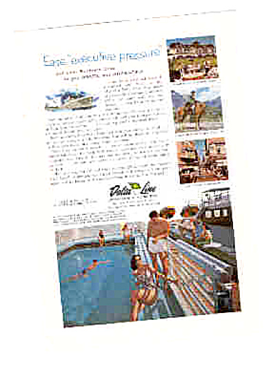 1961 Delta Line Executive Shipping Co. Ad