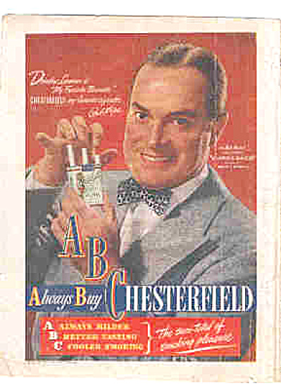 1947 Bob Hope Chesterfield Cigarette Ad (Image1)