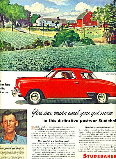 1947 - Studebaker automobile ad (Image1)