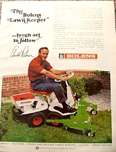 1967 ARNOLD PALMER Bolens Lawnmower AD (Image1)