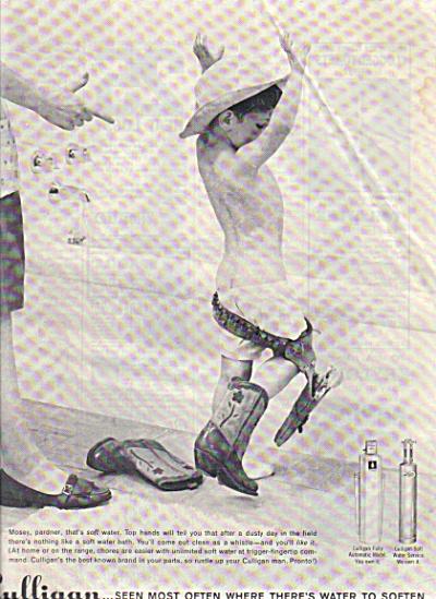 1960 Culligan LITTLE BOY Bathtub Underwear AD (Image1)