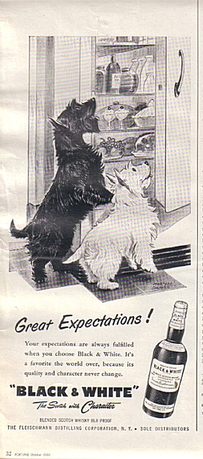 1956 Black - White Scotty Great Expectations