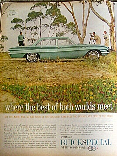 1960 BUICK Special SURVEYOR Car AD (Image1)