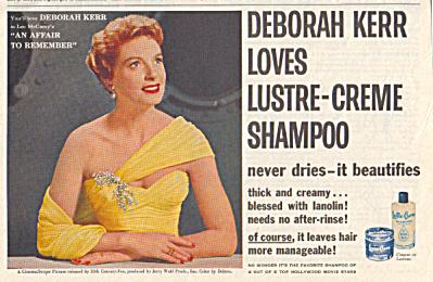 1957 Lustre Cr�me DEBOORAH KERR Affair AD (Image1)