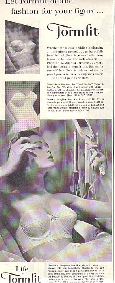 1957 Formfit Madonna BRA Original AD (Image1)