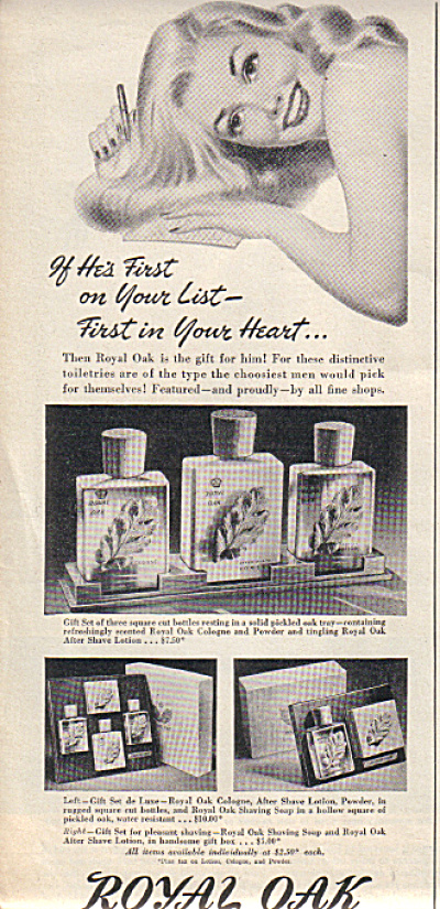 1946 ROYAL OAK for MEN Cologne SETS Pin Up Ar (Image1)