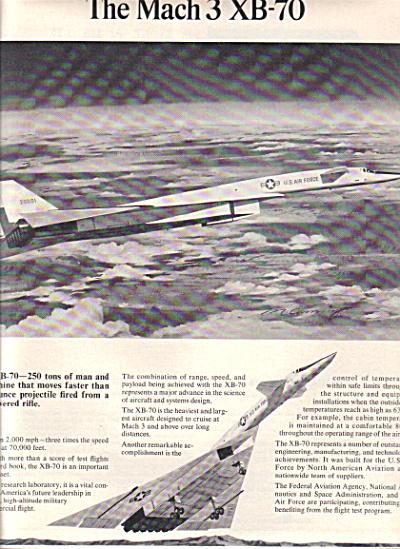 1965 USAF North American Aviation Mach 3 XB-7 (Image1)