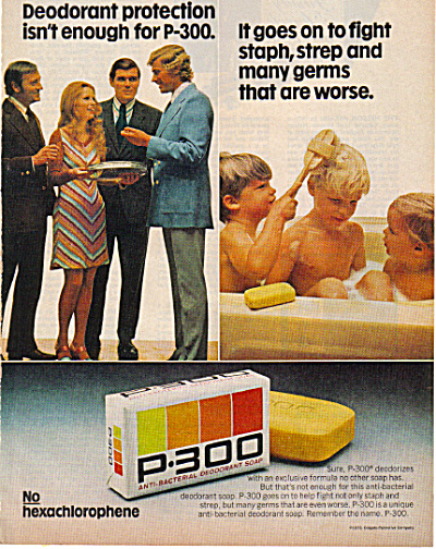 1971 Boys in the Bathtub P-300 SOAP AD (Image1)